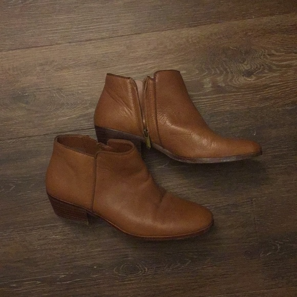 02c61f6c76d685 Sam Edelman Petty Ankle Bootie Deep Saddle Leather.  M 5b68b117d365bec11f04a734